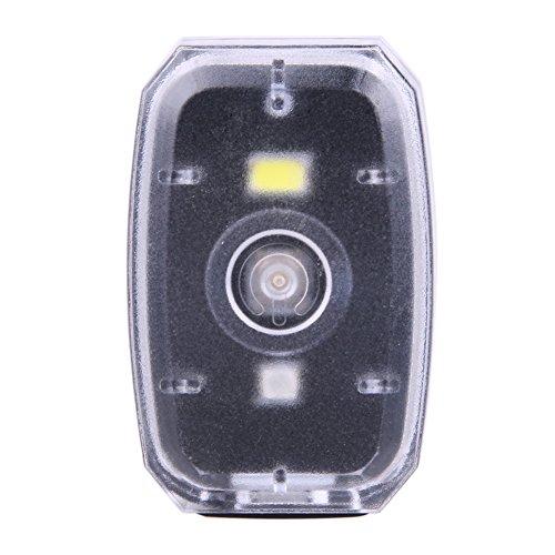 Starnear Waterdichte USB Oplaadbare Fiets Staart Licht Fietsen Led Veiligheid Achterlamp Zwart