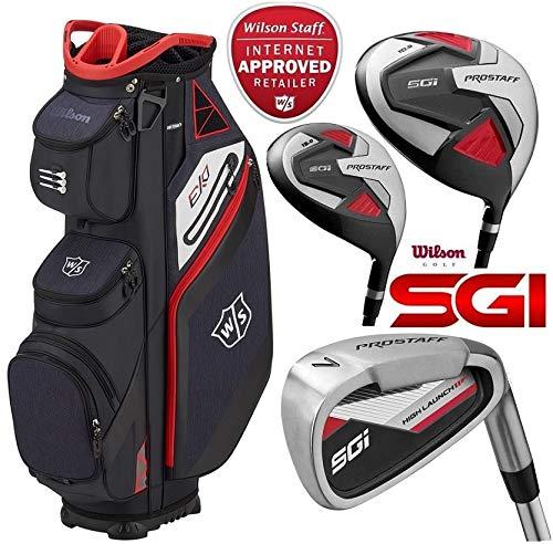 Wilson Prostaff SGI complet Club de golf Graphite 2019 et ensemble de Ionix Sac de golf avec support...