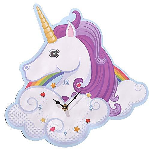 Puckator Unicorn - Reloj de Pared, diseño de Unicornio