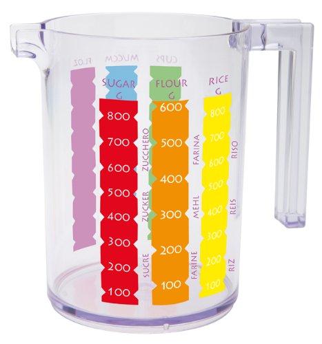Zakdesigns 0025-D171 Meeme Tasse à Mesurer Plastique Transparent 45 x 35 x 25 cm