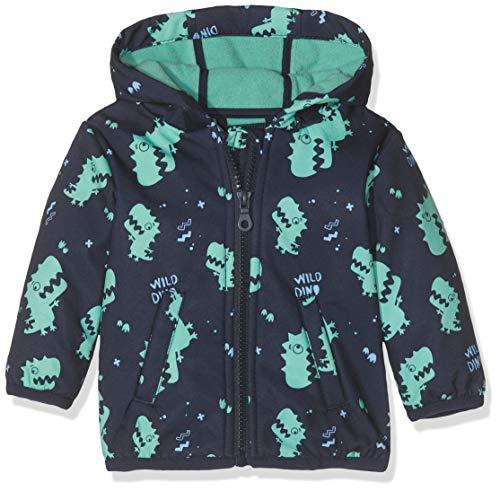 s.Oliver Baby-Jungen 59.908.51.5106 Jacke, Blau (Dark Blue AOP 59a4), (Herstellergröße: 86)