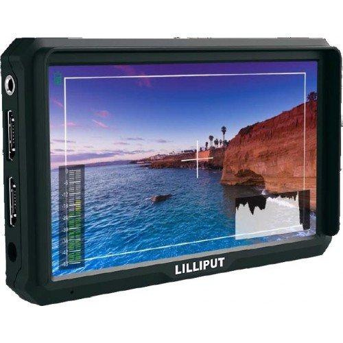 Lilliput A5 5-Zoll-4K-Kamera-Top-Monitor mit 1920x1080 native Auflösung für DSLR-Kamera und Full-HD-Camcorder für die Aufnahme von Fotos & Making Movies