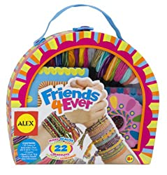Best Toys for 8 year Old Girls-ALEX Toys Friends 4 Ever Bracelet Kit