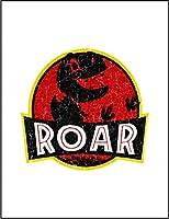 【FOX REPUBLIC】【吠える ティラノザウルス】 白光沢紙(フレーム無し)A4サイズ
