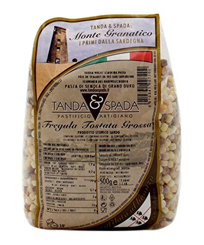 Fregola fregula sarda - Tanda & Spada cf 500gr tostata grossa