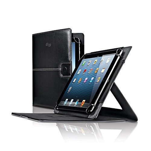 Solo Summit Universal Tablet Case for 8.5 to 11 Inch Tablets, Black