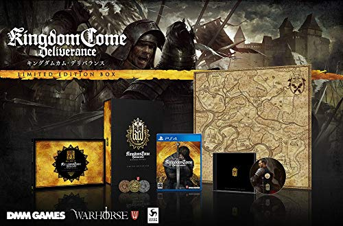 DMM GAMES Kingdom Come Deli Balance Limited Edition [Limited Edition Included Items] Original Art Book Original Soundtrack Special Silver Coins, a Special Map Included - PS4