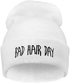 COODIO Unisex Warm Winter Fashion Bad Hair Day Wrap Head Cap Wool Hat Hip-hop Knit Beanie Hats for Fashion Jewelry