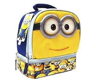 Minions 2 Compartment Lunch Bag Box