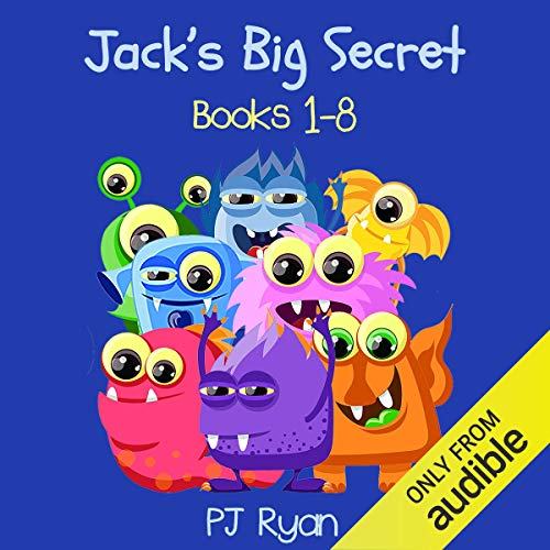 Jack's Big Secret: Books 1-8 audiobook cover art