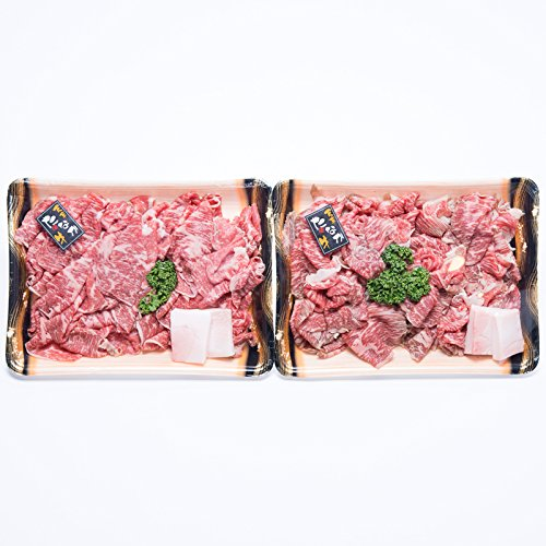 天草黒毛和牛 すき焼用切り落としセット〔和牛切り落とし約500g×2・すき焼きのたれ500g〕