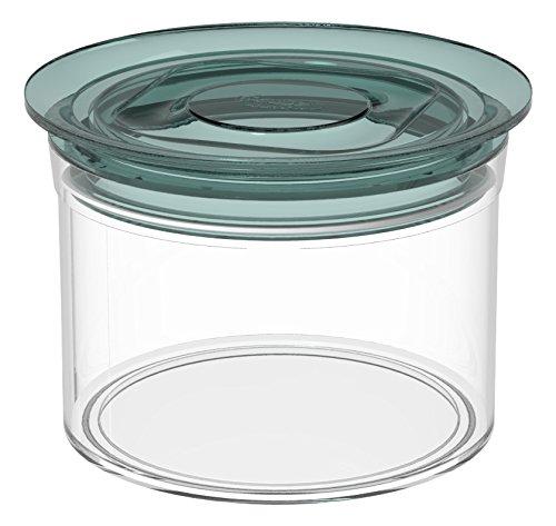 Biesse rond, avec couvercle hermétique en silicone, 550 ml, Vert
