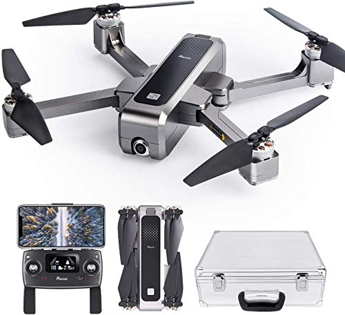 Potensic D88 Foldable Drone with 2K Camera, GPS Return Home, Brushless Motors with Case