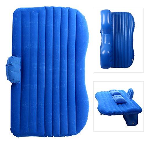 YaeTact Auto-Luftmatratze für Reisen, aufblasbare Matratze/Campingbett, universal mit zwei aufblasbaren Kissen