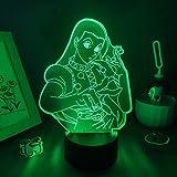 3D NIGHT LIGHT Hunter X Hunter 3D LED Illusion Night Lights Figure Illumi Zoldyck Creative Cool Gift for Friend Bedroom Lava Lamp Desk Decor Birthday regalo per bambini