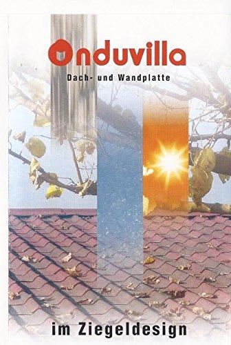 ONDULINE - ONDUVILLA - Dach- und Wandplatte - schwarz - Paketpreis Euro 32,90