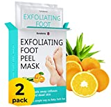 Best Foot Peels - Improved Formula Exfoliating Foot Peel Mask by Sunatoria Review