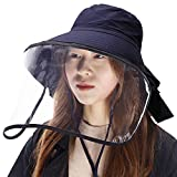 (シッギ)Siggi つば広ハット uvカット帽子 レディース 日よけ帽子 日焼け止め 紫外線対策 婦人用 女優帽 夏用 自転車 折りたたみ ひも uvhat ぼうし 大きいサイズ ネイビー