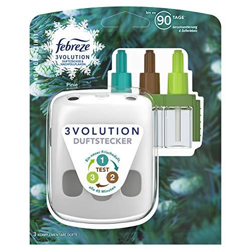 Febreze 3Volution Duftstecker (20 ml) Pinie, Starterset, Raumduft und Lufterfrischer