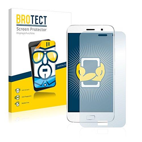 BROTECT Schutzfolie kompatibel mit ZUK Z1 (2 Stück) klare Bildschirmschutz-Folie