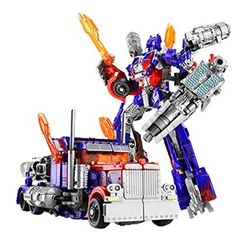 Action Figures Verformtes Auto-Roboter-Spielzeug Auto-Modell-Charakterlegierung Abs-Charakter-Animationsspielzeug, Das Formen Wechseln Kann,Optimus Prime