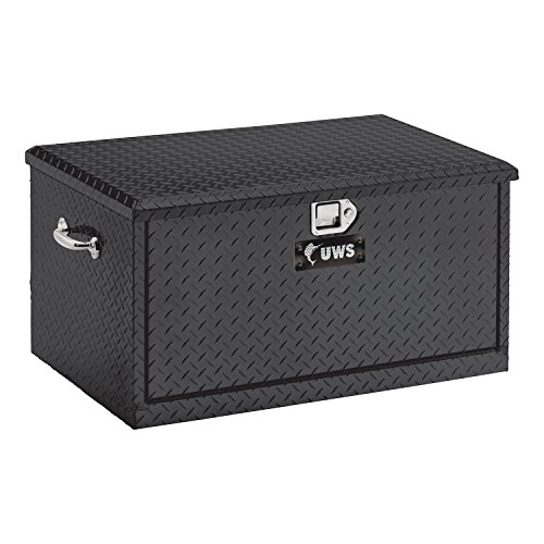 """UWS TBC-38-DS-BLK Black 38"""" Chest with Drawer Slides"""