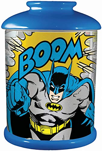 Spoontiques Batman Cookie Jar, One Size, Multicolored