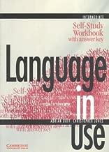 Language in Use Intermediate Self-study workbook with answer key