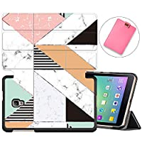 MAITTAO Slim Smart Case For Samsung Galaxy Tab A 8.0 2017 T380/T385, Folio Leather Stand Cover with Auto Sleep/Wake for Galaxy Tab A 8.0 Inch Tablet SM-T380/SM-T385, Marble 15
