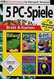 5 PC Spiele: Brett & Karten (Billard 2 / Poker / Brettspiele / Trend Spiele / Logik und Denken - Gehirnjogging für jedes Alter)