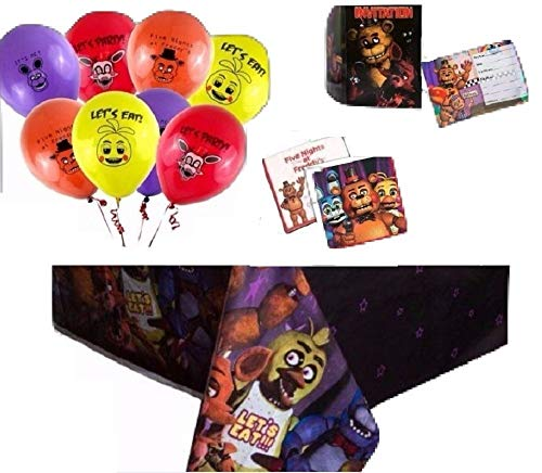 Buy Fat CAT Sales Five Nights at Freddy's Party Supplies