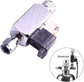 Aquarium Co2 Solenoid Valve CO2 System Regulator Magnetic Valve for Plant Tank Water Grass Grow Easy to Install/US Plug 12V