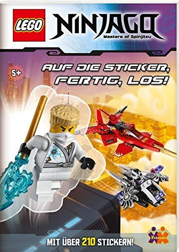 LEGO Ninjago: Auf die Sticker, fertig, los!