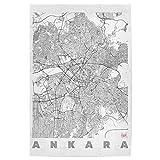 artboxONE Poster 150x100 cm Städte Ankara, Türkei