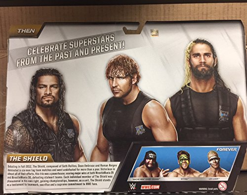 WWE, Elite Collection, Then Now Forever Seth Rollins, Dean Ambrose, and Roman Reigns (The Shield) Exclusive Action Figures