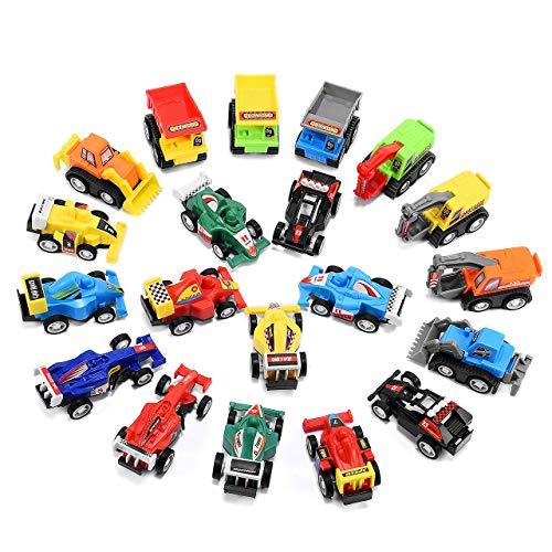 EUTOYZ Geschenke für Jungen ab 2-6 Jahre Junge Spielzeug, Spielzeugautos ab 2-6 Jahren Spielzeugauto für Kinder Kleinkinder Spielzeug für Jungen 2-6 Jahre Weihnachts Geschenke für Kinder ab 3-12 Jahre