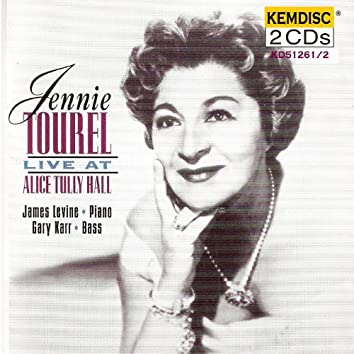 Jennie Tourel Live At Alice Tully Hall