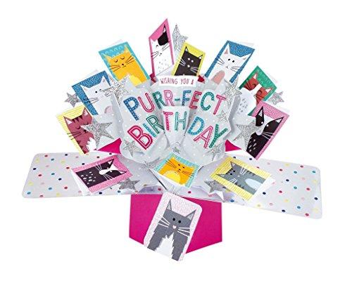 Second Nature Pop UPS Pop Up Biglietto Di Compleanno Con Scritta\