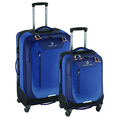 Best Deals! Eagle Creek Expanse AWD Luggage Set (22 Inch Carry-On + 30 Inch Checked), Twilight Blue