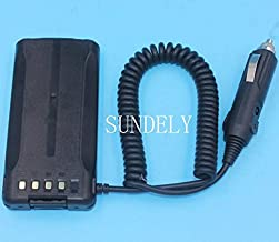 SUNDELY Car Charger Battery Eliminator for Kenwood Radio TK-5210 TK-2180 TK-3180 KNB-33L
