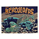 Taedelatv Herculoids Assemble 500 Piece Puzzles for Adults and Kids -Jigsaw Puzzles 500 Pieces Game Toys Gift