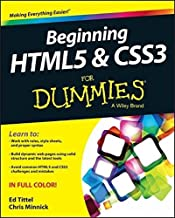 Beginning HTML5 and CSS3 For Dummies by Ed Tittel Chris Minnick(2013-09-03)