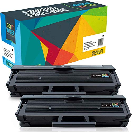 Price comparison product image Do it Wiser Compatible Toner Cartridge Replacement for MLT-D111S Samsung Xpress M2020W M2070 M2070FW M2020 M2022 M2022W M2026 / 2 Pack