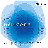 D'Addario H510-4/4H Helicore - Muta di corde per violoncello 4/4, con anima in acciaio int...