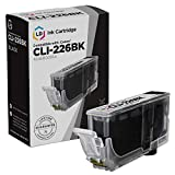 LD Compatible Ink Cartridge Replacement for Canon CLI-226BK 4546B001AA (Dye Black)