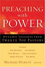 Preaching with Power: Dynamic Insights from Twenty Top Communicators