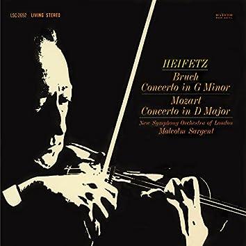 Bruch: Violin Concerto No. 1 in G Minor, Op. 26 , Mozart: Violin Concerto No. 4, K.218, in D
