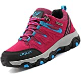 LIANNAO Chaussures de Randonnée pour Hommes Femmes Bottes de Randonnée Respirant Bottes de Trekking Antidérapantes Bottes d'escalade Chaussures de Marche Unisexe Imperméable 36-47