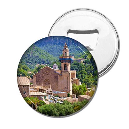 Weekino Spanien Alcudia Altstadt von Mallorca Bier Flaschenöffner Kühlschrank Magnet Metall Souvenir Reise Gift