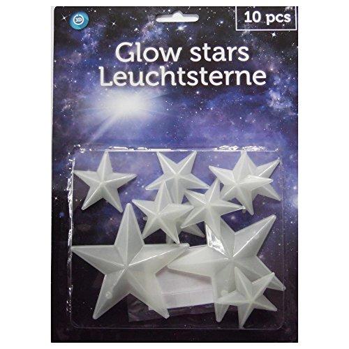 Etoile 3D stickers Phosphorescents Glow in the dark